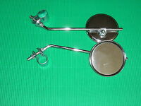 A Pair Fahrrad Mirror - Bicycle Rear View Mirror Left Right Chrome