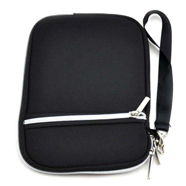 7.9 inch Black Soft Sleeve Zipper Case Bag Pouch for Apple iPad Mini