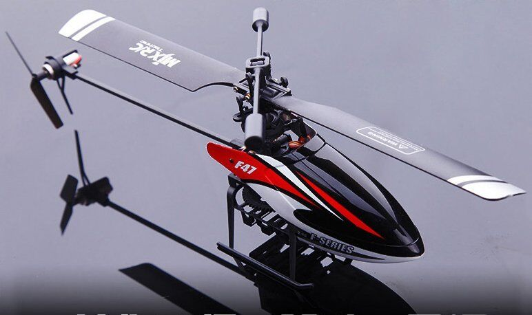 MJX Helicopter F47,  F647  2.4Ghz, GYRO 4.5 Ch SERVOS and Single Blade, UK