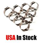 PEX 304 Stainless Steel Clamp Cinch Rings Crimp Pinch Fittings 50 PCs 3/4''