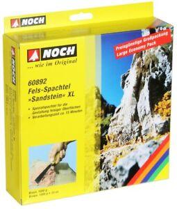 Noch-60892-Spatule-de-Roche-Braun-XL-Gres-1000-G-100-G-Neuf-Emballage