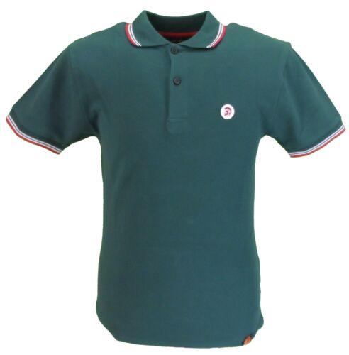 Trojan Records Dark Green Classic Retro Polo Shirt
