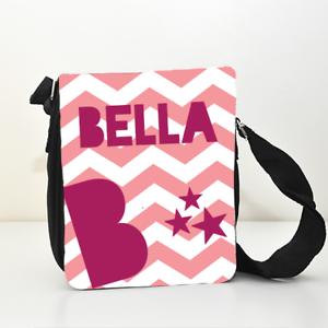 Details About Personalised Name S Kids Child Messenger Shoulder Side Bag Ipad Case School