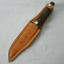 Othello - Original Bowie Knife - Messer - Wingen Solingen + Scheide top 06473