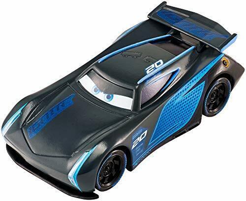 Cars petite voiture Jackson Storm noire, jouet pour enfant, Noir Garçon Fille
