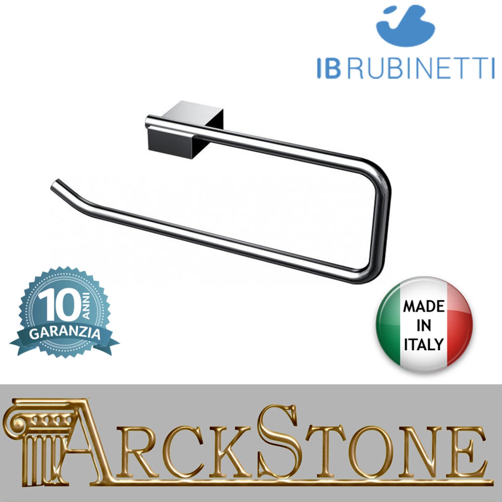 Porte serviette bague bague bague laiton chrome mur IB Rubinetti Snatch accessoires | à Gagnez Un Haut Admiration  442941