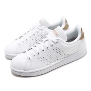 adidas Advantage White Copper Metallic Womens SZ 8 Casual Shoes ...