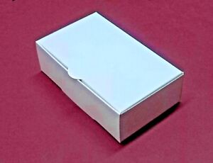 50-30-100-White-Single-Slice-Wedding-Party-Favour-Cake-Boxes-Bargain-3-Sizes