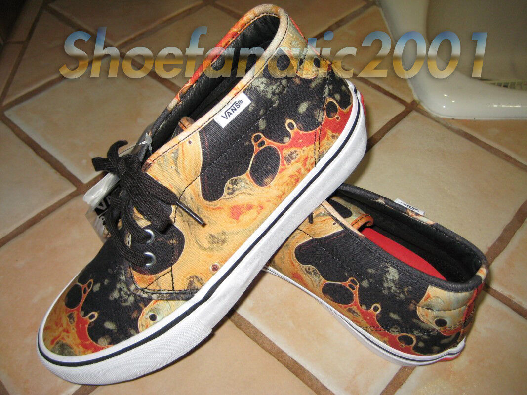 VANS Supreme Andres Serrano Skateboarding Chukka Pro Boot Blood Semen Graphic 8