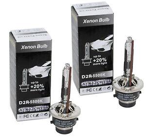 2x-Ersatz-D2R-HID-Xenon-Brenner-Lampen-COOL-BLUE-20-Licht-fuer-W210-W163-W208