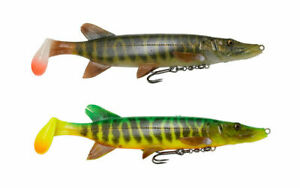 Savage-Gear-4D-Pike-aloses-20cm-65g-SS-cannibale-Mike-the-Pike-leurre-Cast-Replicant