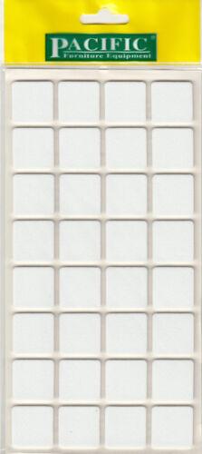 32 Blanc EVA Caoutchouc Sol Meubles Pad auto adhésif anti-dérapant Plancher Protecteurs