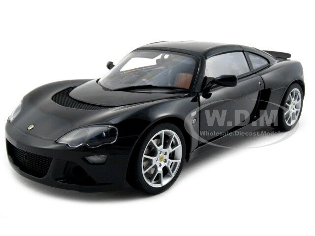 Lotus Europa S nero 1 18 Diecast Model Car By Autoart 75367