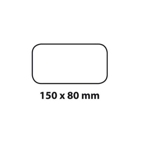 Syste BIELMEIER Außengitter mit Flachanschluss BxH Rückstauklappe 150x80 mm