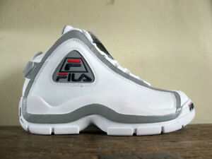 Brillar Tacto puerta  SAKS FIFTH AVENUE x FILA 96 Grant Hill 2 Reflective Shoes 9.5 rare 3M  stackhouse | eBay