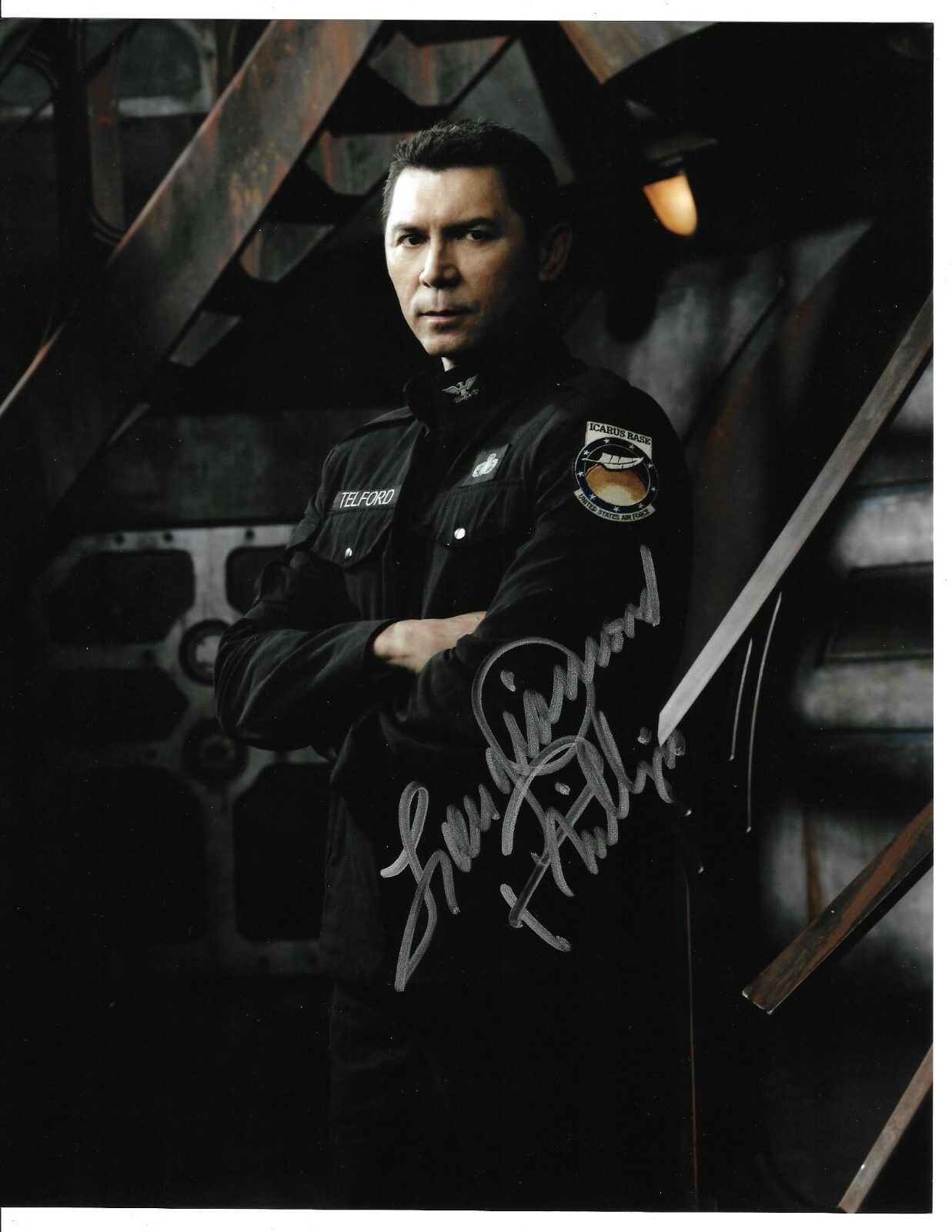 Television David Blue W/ Coa Signed 8x10 Autograph Photo Sgu Stargate Universe