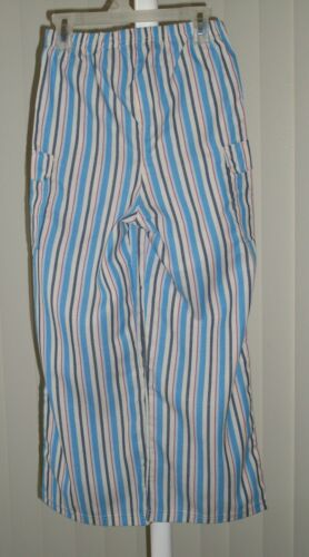 Boys Sleep Pants Pajama Bottoms Blue Stripe New Size 6
