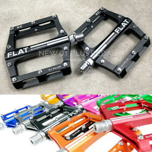 SMS Aluminum XC AM Mountain Road Bike Bearing Pedals flat Pedal 100*98mm 370g