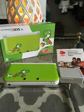 Nintendo 3DS XL Yoshi Edition Green Handheld System