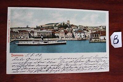 Postkarte Ansichtskarte Italien Lithografie Desenzano
