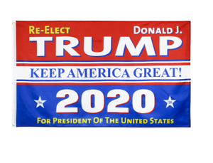 Trump Keep America Great President Make America Great Ft Flag USA 2020