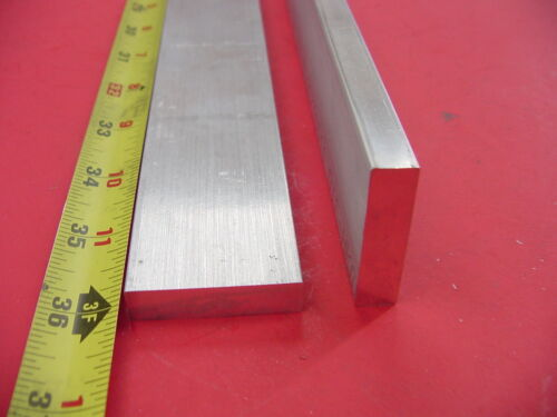 2 Pieces 3//8 X 1-1//2 ALUMINUM 6061 FLAT BAR 12 long T6 .375 Solid Mill Stock