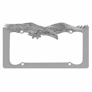 image is loading pilot eagle license plate frame chrome wl108 c - Eagle License Plate Frame