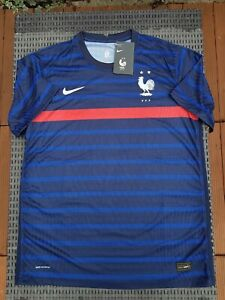 Taille L - Maillot MATCH France domicile 2020-2021, 100% NEUF ! Football