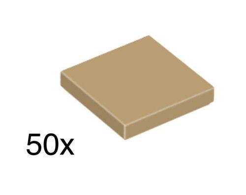 - Brand New City//Star Wars LEGO 50 x Dark Tan 2x2 Tile 3068b