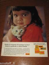 AG24=1963=KODAK PELLICOLA=PUBBLICITA'=ADVERTISING=WERBUNG=