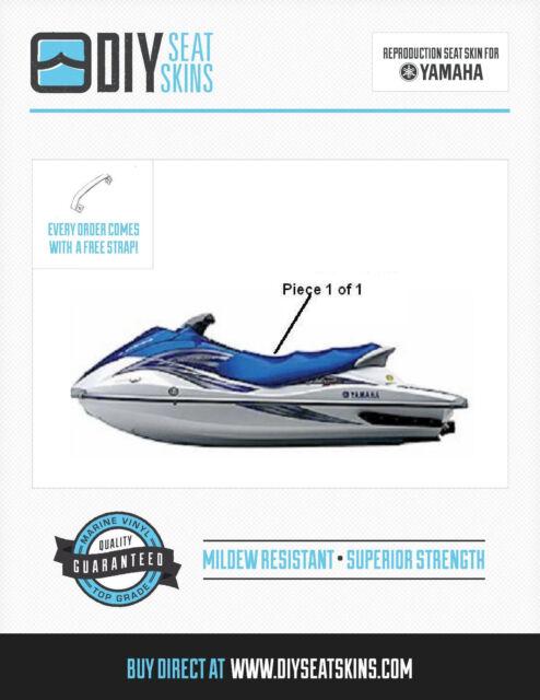 Yamaha VX SPORT DELUXE XL XLT BLUE Seat Skin Cover 01 02 03 04 05 06 07 08 09