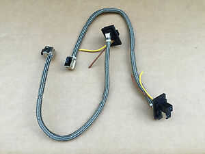 2x oem bmw d1s xenon ballast plug connector wiring harness wire image is loading 2x oem bmw d1s xenon ballast plug connector