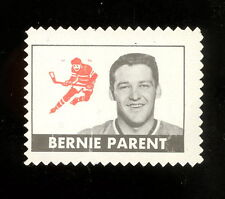 1969 70 TOPPS OPC O PEE CHEE HOCKEY BERNIE PARENT STAMP UNUSED VG-EX FLYERS