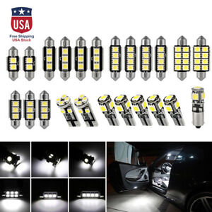23pc-Car-LED-Interior-Light-Kit-Dome-Trunk-Map-License-Plate-Lamp-Bulb-Spotlight