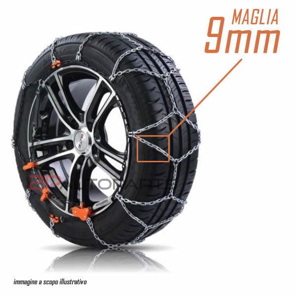 Domino/ Manopole per ATV//Quad Domino 126/mm blu a09041/C4800 /83633