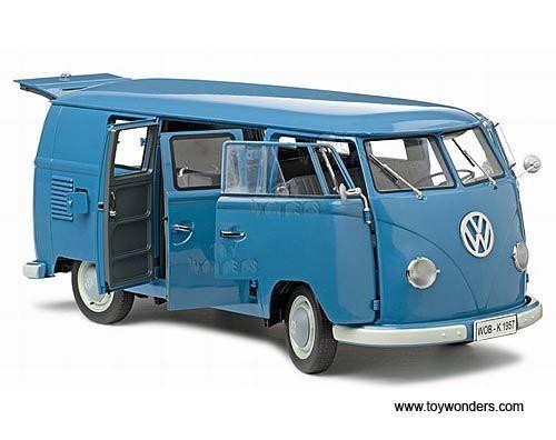1 12 Sunstar VW Bus T1 - 1957 Kombi Kombi Kombi - blue -  mit Zertifikat b66806