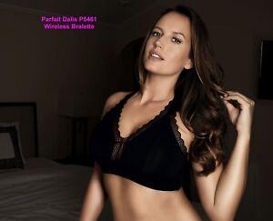 5561f939d63 Image is loading Parfait-DALIS-Modal-Bralette-Wirefree-Bra-P5461-Black-