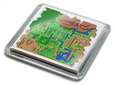 ZELDA LINKS AWAKENING WORLD MAP SNES Game Novelty Gift Quality Drink Mug Coaster