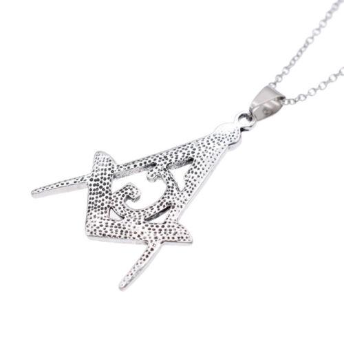 Titanium Steel G Necklace Free-Mason Masonic Symbol Charity Spirit New Jewelry