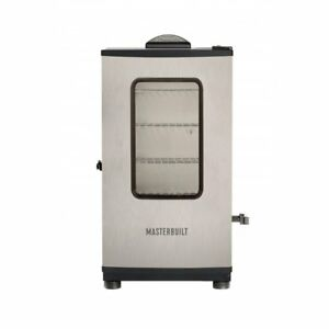 Masterbuilt-Digital-Electric-Stainless-Steel-BBQ-Smoker-Grill-w-Remote-Control