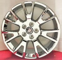 Set Of 4 Cadillac Cts Factory Oe 19 X 8.5 Inch Chrome Plated Wheels 4671