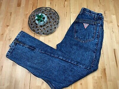 80's Guess Vintage Jeans, Mom Jeans, Georges Marciano Acid Wash, High Waisted, 80's Jeans