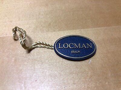 Locman Italien Uhren Tag Für Collectors Etikett Uhr Methodisch Taktzeit Label