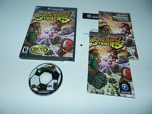 Super-Mario-Strikers-Nintendo-Gamecube-Game-Complete-CIB-Tested
