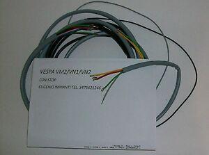 Schema Elettrico Frecce Auto : Impianto elettrico electrical wiring vespa 125 vm2 vn1 vn2 con