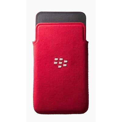 BlackBerry Microfibre Slip Pouch for BlackBerry Z10 Red (ACC-49282-202)