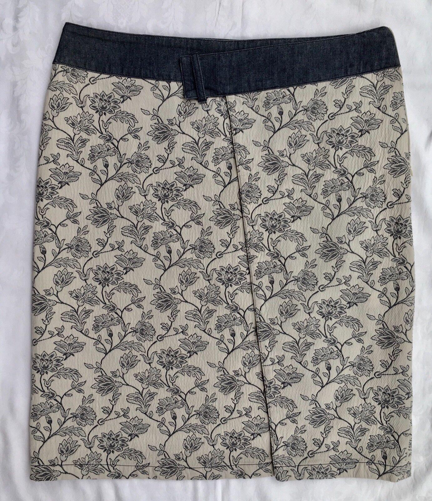 Authentic Armani, MINT Pencil skirt, Knee length,100% cotton, G.B.16, ,
