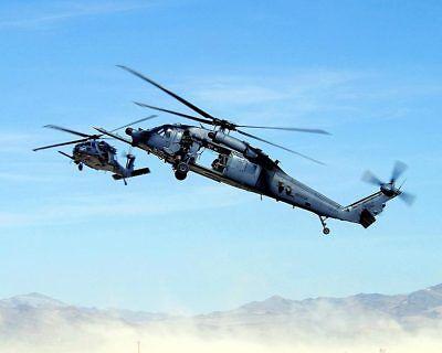 Sammeln & Seltenes Transport Alert Hh-60 Pave Hawks Hubschrauber 8x10 Silber Halogen Fotodruck To Produce An Effect Toward Clear Vision