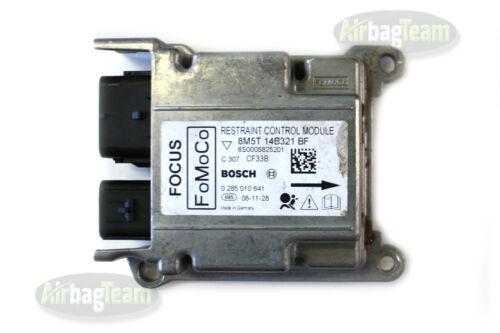 No Crash Data Ford Focus Airbag ECU Control Module 8M5T14B321BF 0285010641