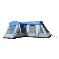 Tahoe Gear Gateway 12-person Deluxe Cabin Family Camping Tent, Blue And Gray on Sale